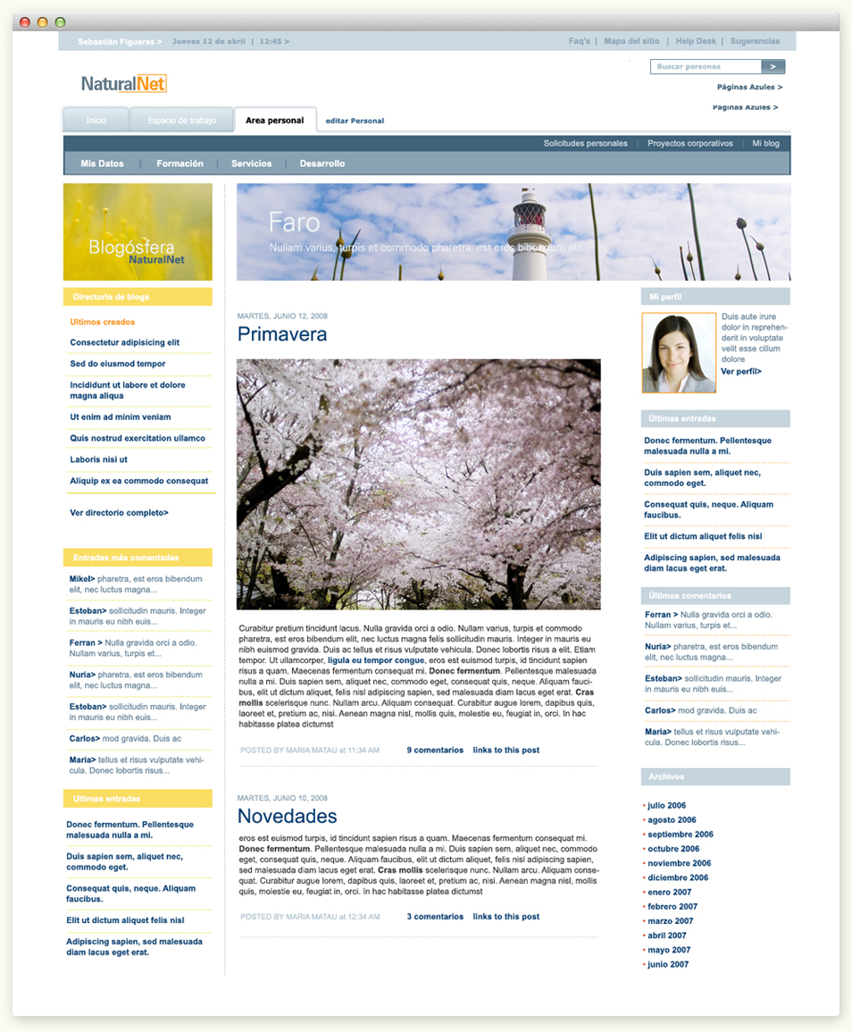 Intranet Gas Natural